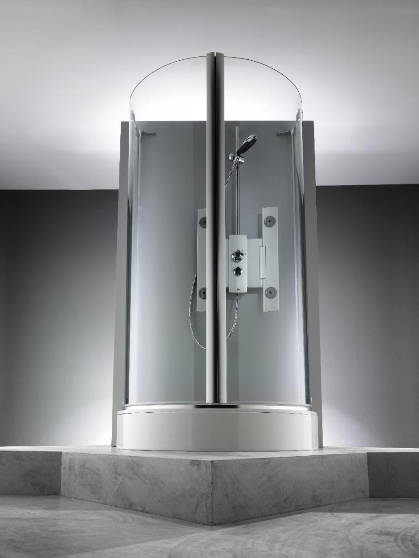 Распашная дверь 1002 с неподвижными сегментами. Производитель: Германия, Huppe