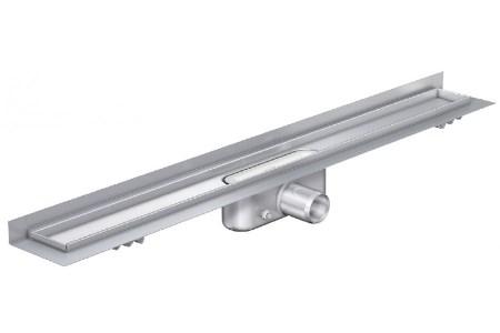 ACO 408756 трап для душа с вертикальным фланцем ShowerDrain C-line, стандартный сифон, 585 мм. Производитель: Германия, Aco