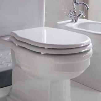 Althea Ceramica Сlassic Royal 27050 Сиденье для унитаза белое петли хром  . Производитель: Италия, Althea ceramica
