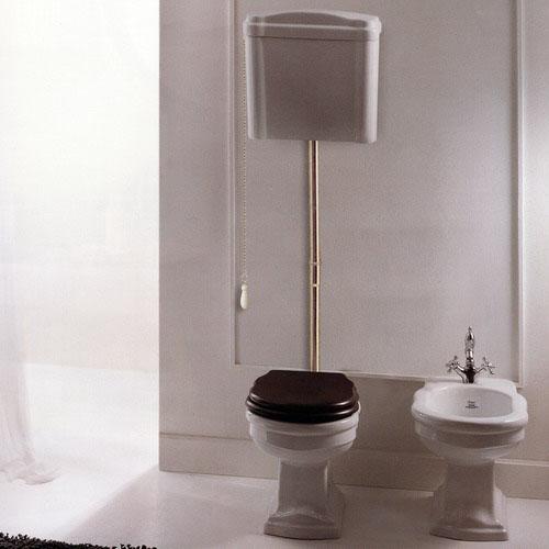 Althea Ceramica Сlassic Royal 27003 Унитаз с верхним бачком и трубой, хром . Производитель: Италия, Althea ceramica