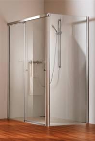Душевая кабина HUPPE, раздвижная дверь Design 501 2-x секционная. Производитель: Германия, Huppe
