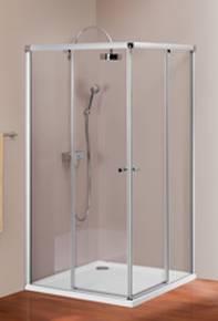 Раздвижная дверь Design 501 2-x секционная (угл. вход) в душевую кабину HUPPE. Производитель: Германия, Huppe