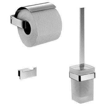 Emco Loft 059800100 Набор аксессуаров: ершик, держатель туалетной бумаги, крючок. Производитель: Германия, Emco