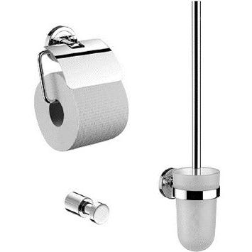 Emco Polo 079800100 Набор аксессуаров: ершик, держатель туалетной бумаги, крючок. Производитель: Германия, Emco