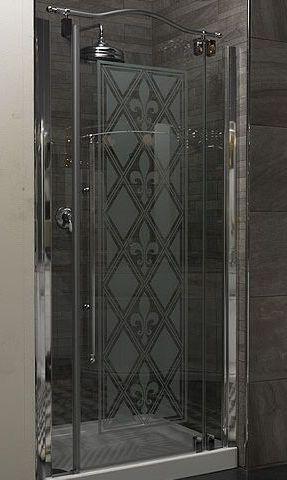 Душевая дверь 90 см, хром Linea Classica box-doc-p90 Eurodesign. Производитель: Италия, Eurodesign