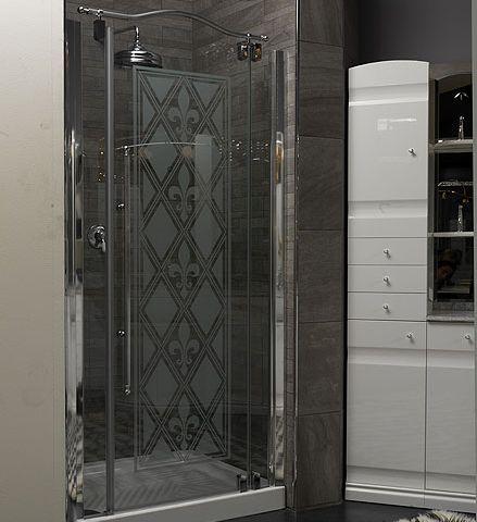 Душевая дверь 90 см, хром Linea Classica box-doc-p90 Eurodesign