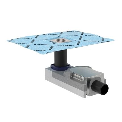 Geberit CleanLine 154.052.00.1 Трап для душа с решеткой, высота 65 мм