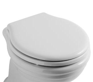 Globo Paestum PA021 Сиденье с крышкой для унитаза, петли хром. Производитель: Италия, Globo