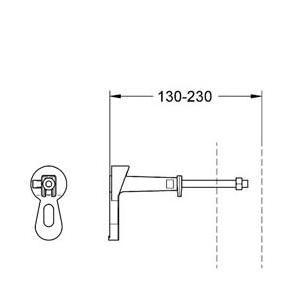 Схема Grohe 3855800M Rapid SL Крепление для инсталяции