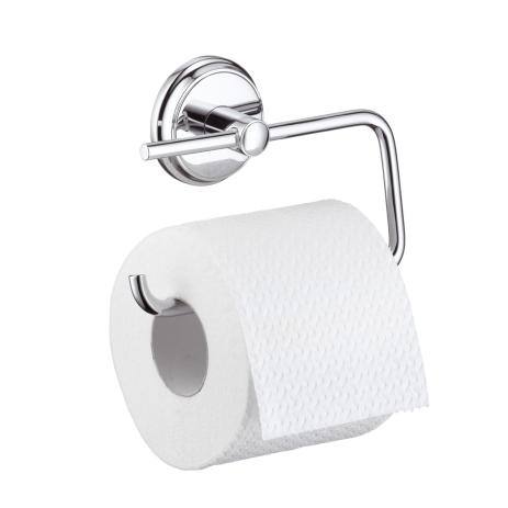 Аксессуары для ванной Hansgrohe Logis Classic 41626000 Держатель туалетной бумаги. Производитель: Германия, Hansgrohe