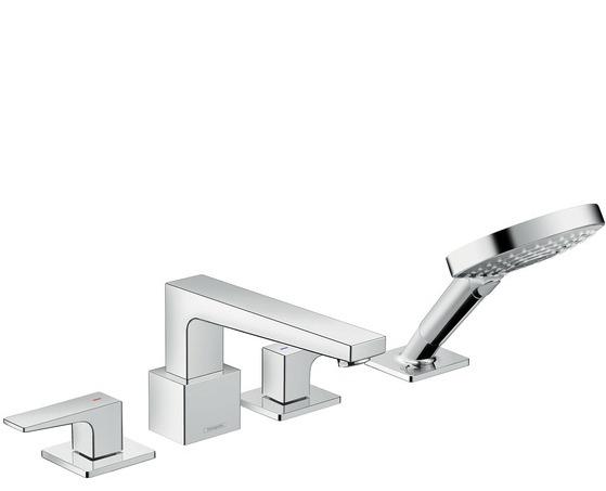 Hansgrohe Metropol 32553000 врезной смеситель для ванны на четыре отверстия. Производитель: Германия, Hansgrohe