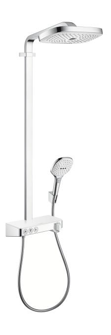 hansgrohe 27127400 raindance select e 300 3jet showerpipe. Black Bedroom Furniture Sets. Home Design Ideas