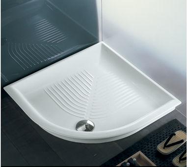 Hatria Lif Y0GF полукруглый керамический поддон 90х90 см. Производитель: Италия, Hatria