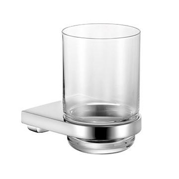 Keuco Collection Moll 12750019000 стаканчик для зубных щеток, хрусталь, хром. Производитель: Германия, Keuco
