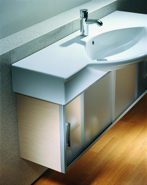 Laufen Case 71501514 Шкафчик 116x30 см, корпус светлый дуб, к умывальникам Palace. Производитель: Швейцария, Laufen