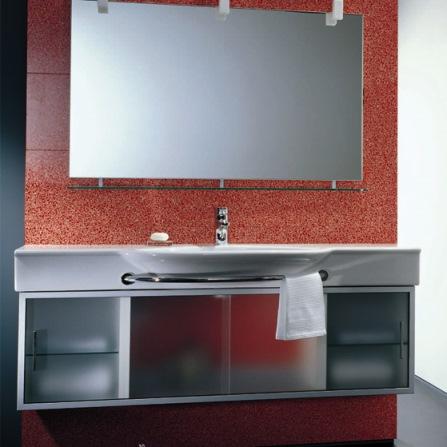 Laufen Case 72501500 Шкафчик 146x30 см, корпус белый, к умывальникам Palace. Производитель: Швейцария, Laufen