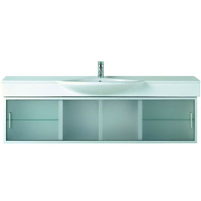 Laufen Case 73501500 Шкафчик 176x30 см, корпус белый, к умывальникам Palace