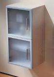 Laufen Case 78951514 (левый), 78952514 (правый) Шкафчик средний, корпус из шпона дуба. Производитель: Швейцария, Laufen