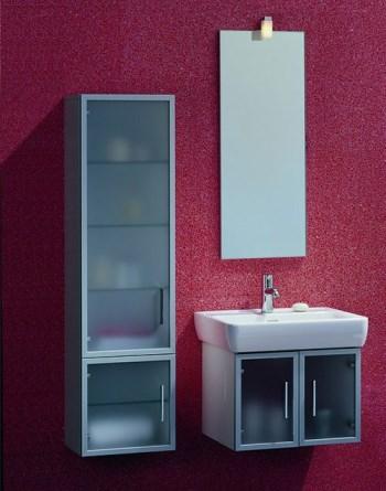 Laufen Case 79951514 (левый), 79952514 (правый) Шкафчик высокий, корпус из шпона дуба