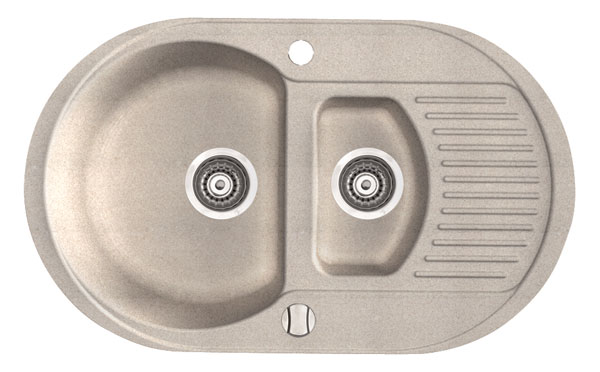 Marmorin Duro 130513 xхх Гранитная кухонная мойка 770x470x190 мм. Производитель: Польша, Marmorin