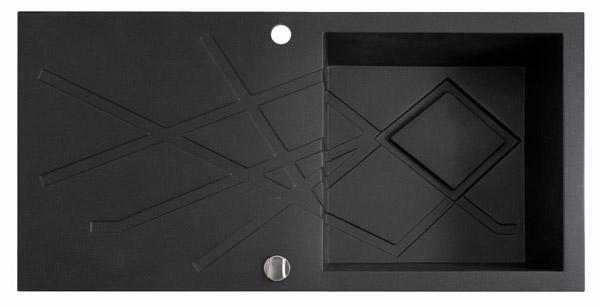 Marmorin Foorn2 460113xхх Гранитная кухонная мойка 1000х500х225 мм. Производитель: Польша, Marmorin
