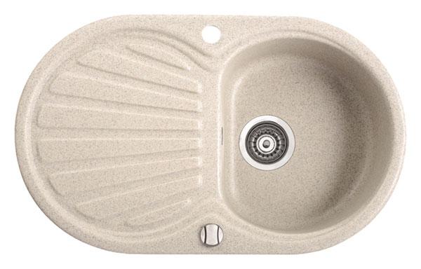Marmorin Korund 190113 xхх Гранитная кухонная мойка 760x460x165 мм . Производитель: Польша, Marmorin