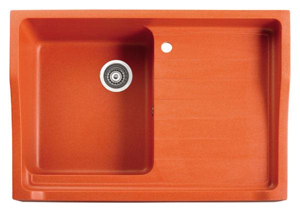 Marmorin Rubid 230114xхх Гранитная кухонная мойка 890x615x270 мм. Производитель: Польша, Marmorin