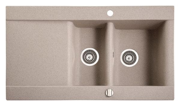 Marmorin Voga 110513xхх Гранитная кухонная мойка 950x540x200 мм. Производитель: Польша, Marmorin