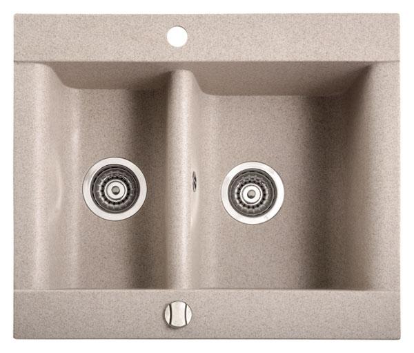 Marmorin Voga 110503ххх Гранитная кухонная мойка 637x540x200 мм. Производитель: Польша, Marmorin