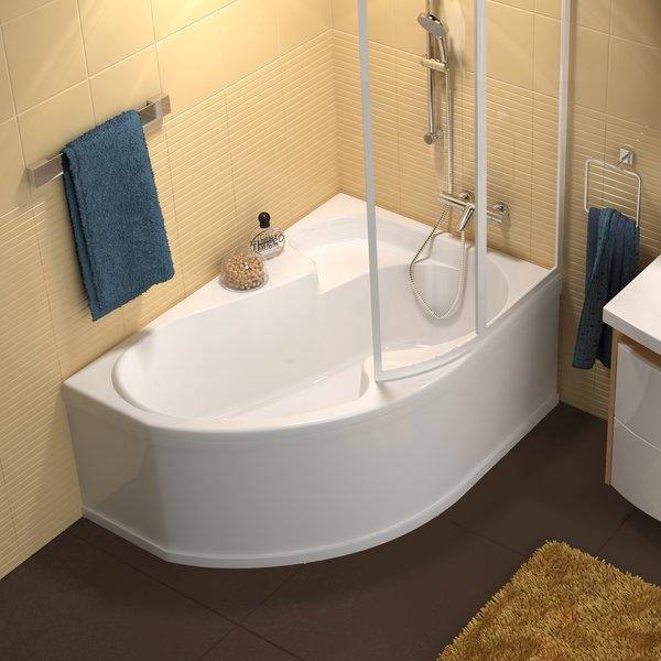 Ravak Rosa1 140 L/R Ванна угловая асимметричная 140х105 см. Производитель: Чехия, Ravak