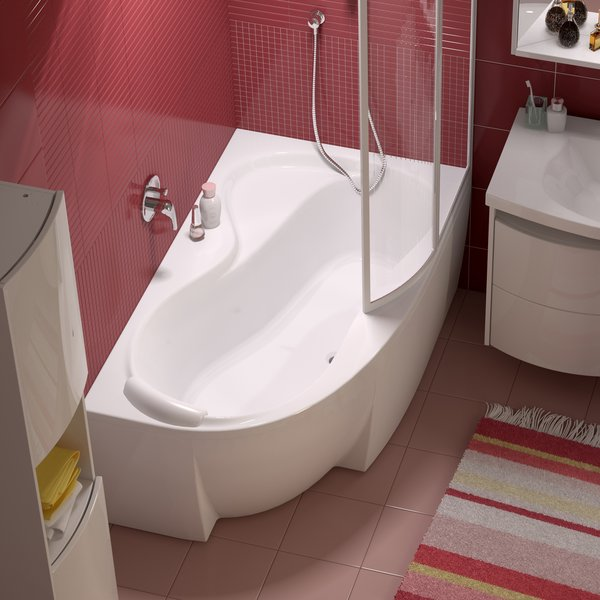 Ravak Rosa 95 150 L/R Ванна угловая асимметричная 150х95 см. Производитель: Чехия, Ravak