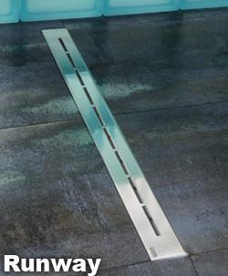 RAVAK Runway 850 Душевой канал из нержавеющей стали с решеткой 85 см. Производитель: Чехия, Ravak