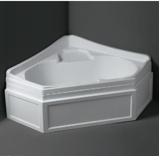 Simas VAT14+PFB14 Ванна 140х140 см c каркасом и панелью белого цвета. Производитель: Италия, Simas