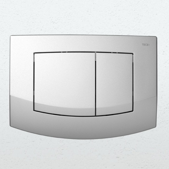 TECE Teceambia 9240225 клавишная панель смыва, хром матовый. Производитель: Германия, Tece