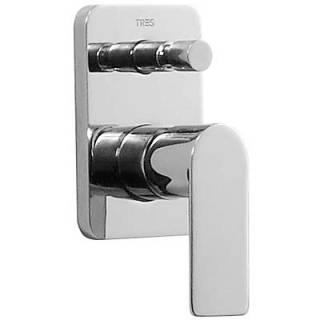 Tres Loft 200.180.01 смеситель для ванны скрытого монтажа. Производитель: Испания, TRES