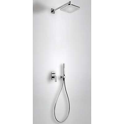 Tres Loft 200.180.02 Душевая система скрытого монтажа с верхним душем 220x220 мм. Производитель: Испания, TRES
