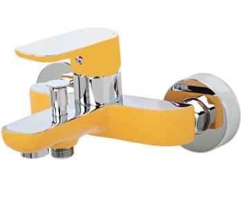 Venezia Kapadokya 5010901-08 смеситель для ванны желтый/хром. Производитель: Турция, Venezia