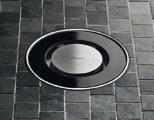 Решетка Viega Visign RS15 617165, темное стекло. Производитель: Германия, Viega