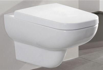 Villeroy&Boch Joyce 5607R001 Унитаз подвесной Direct Flush без ободка с крышкой Soft-Close 9M52S101. Производитель: Германия, Villeroy & Boch