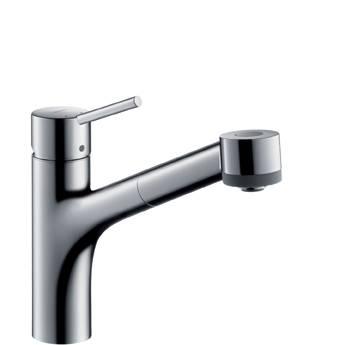Hansgrohe 32841000 Talis S Смеситель для кухни с выдвижным душем. Производитель: Германия, Hansgrohe