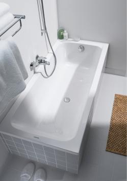 Duravit D-Code 7000970000 Ванна 170x70 акриловая с центральным сливом