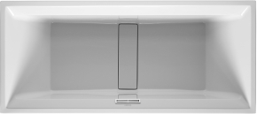 Ванна прямоугольная 2nd floor DURAVIT 700076 180х80 см со специальным сливом и переливом встраиваемая. Производитель: Германия, Duravit