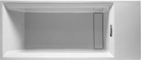 Ванна прямоугольная 2nd floor DURAVIT 700077 210х90 см со специальным сливом и переливом встраиваемая. Производитель: Германия, Duravit