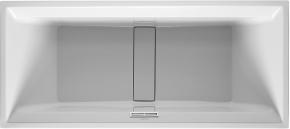 Ванна прямоугольная 2nd floor DURAVIT 700081 180х80 см со специальным сливом и переливом с подставкой для облиц. панелей. Производитель: Германия, Duravit