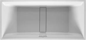 Ванна прямоугольная 2nd floor DURAVIT 700160 190х90 см со специальным сливом и переливом встраиваемая. Производитель: Германия, Duravit