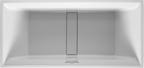 Ванна прямоугольная 2nd floor DURAVIT 700162 190х90 см со специальным сливом и переливом с подставкой для облиц. панелей. Производитель: Германия, Duravit