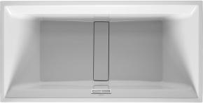 Ванна прямоугольная 2nd floor DURAVIT 700163 200х100 см со специальным сливом и переливом с подставкой для облиц. панелей. Производитель: Германия, Duravit