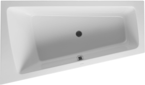 Ванна Paiova DURAVIT 700218(левая), 700219 (правая) 170х100 см с подставкой для облицовочных панелей. Производитель: Германия, Duravit