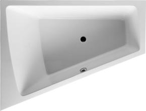 Ванна Paiova DURAVIT 700222(левая), 700223(правая) 180х140 см с подставкой для облицовочных панелей. Производитель: Германия, Duravit