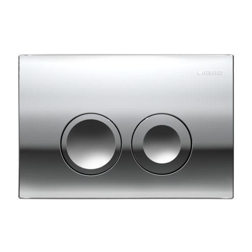 Geberit Delta21 115.125.21.1 Смывная клавиша хром глянцевый. Производитель: Швейцария, Geberit